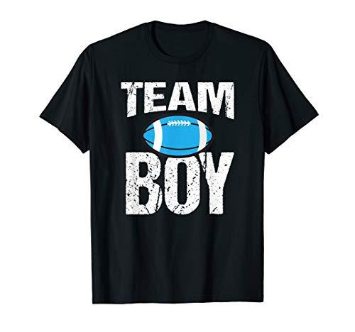 Green T-shirt Team Dad (Football Team Boy Gender Reveal T-Shirt)