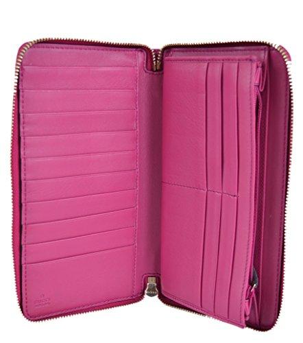 990344fcd38e Gucci Women's Soho Vernice Patent Leather Zip Around Travel Wallet | Luxury  Handbags