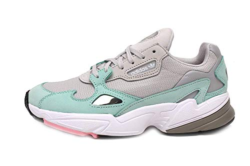 sports shoes 12aaf 67e30 adidas Falcon Womens in Grey Green Parent B07H88ZF6C B07H88ZF6C B07H88ZF6C  859f5f