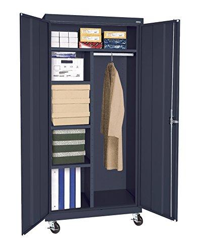 Sandusky Lee TACR362460-A6 Transport Series Mobile Combination Storage Cabinet, Navy (Series Mobile Combination Cabinet)