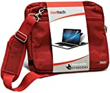 Best  - Navitech Red Premium Messenger/Carry Bag Compatible with The Review