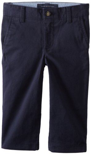 Tommy Hilfiger Little Boys' Academy Chino Pant, Swim Navy, 5