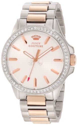 Juicy Couture Women's 1901024 Jetsetter Rose Gold Two Tone Bracelet Watch (Prestige Bezel Bracelet)