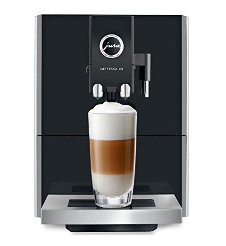 Jura A9 Automatic Coffee Machine, Black (Refurbished) Bundle