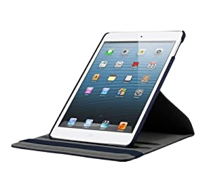 KHOMO Apple iPad Air Case - Blue 360 Degree Rotating Stand Case Cover With Built-in magnet for sleep / wake feature For iPad Air Tablet from iPad Air Case