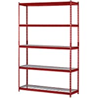 Muscle Rack 5-Shelf Steel Shelving Unit, 60