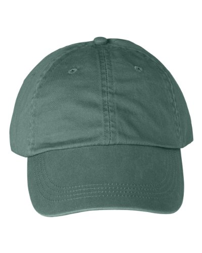 Anvil - 6-Panel Pigment-Dyed Twill Cap >> One size,IVY