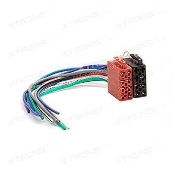 xtrons universal male iso radio plug adapter auto wiring cable car rh amazon co uk universal wiring harness instructions universal wiring harness 20-circuit