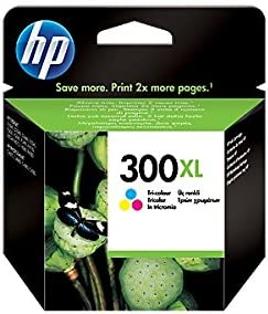 HP 300XL - Cartucho de Tinta para impresoras (Cian, Magenta, Amarillo, 440 páginas, Tri-Color, 20-80%, -40-60 °C, 15-32 °C) Si: Amazon.es: Oficina y papelería
