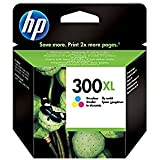 HP No.300XL Tri-colour Ink Cartridge with Vivera Inks (Yield 440 pages) (CC644EE#ABB)