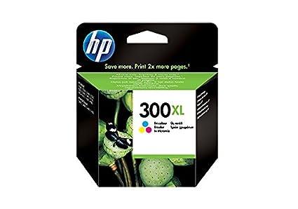 HP 300XL - Cartucho de Tinta para impresoras (Cian, Magenta, Amarillo, 440 páginas, Tri-Color, 20-80%, -40-60 °C, 15-32 °C) Si