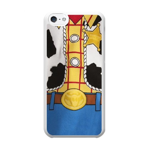 Coque,Coque iphone 5C Case Coque, Toy Story Cover For Coque iphone 5C Cell Phone Case Cover blanc