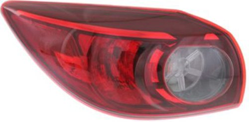 Partslink MA2804115 OE Replacement Tail Light Assembly MAZDA MAZDA 3 2014 Multiple Manufacturers MA2804115N