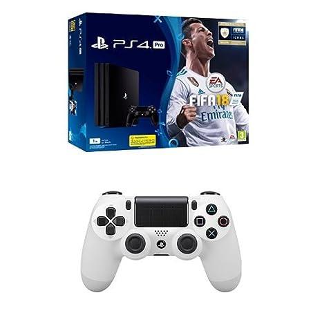 PlayStation 4 Pro (PS4) - Consola de 1 TB + FIFA 18 + Sony