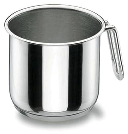 Lacor 90714 - Pote cilíndrico Gourmet 14 cm Acero Inoxidable 18/10