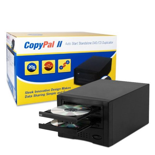 CopyPal II Single Target DVD Duplicator without LCD Display D01COPYPALII (Black) by COPYPAL