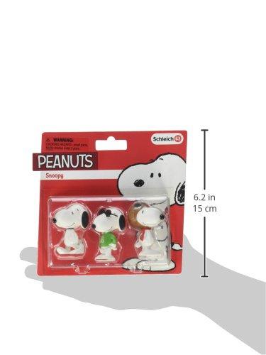 Schleich North America Snoopy Toy Figure Set