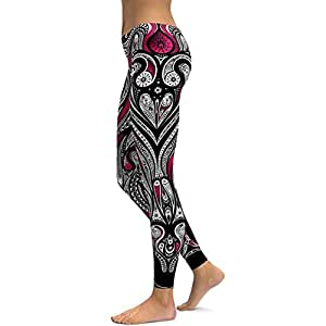 BEESCLOVER Yoga Pants Black Pink Women Fitness Leggings Tight Wear Gym Training Sports Running Leggings Elastic Push Trousers Pink S