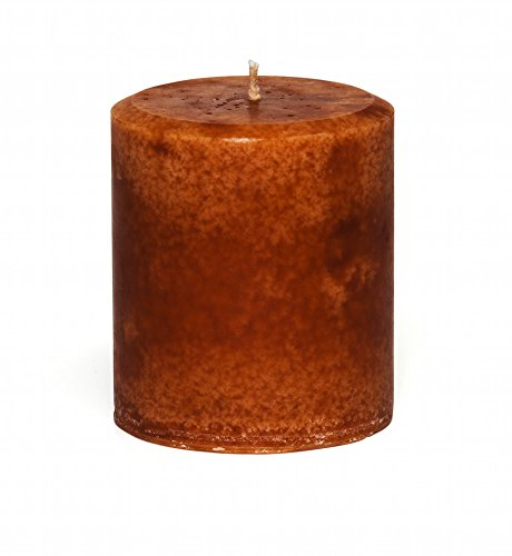 Jensan-Cinnamon-Orange-Scented-Decorative-Pillar-Candle-Handmade
