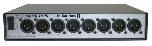Fischer Amps 001123 In-Ear Amp 8 Headphone Amplifier