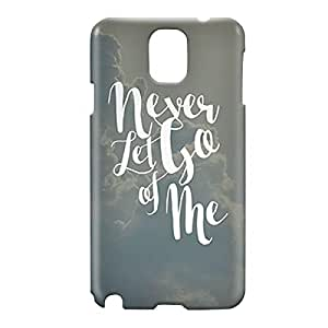 Loud Universe Samsung Galaxy Note 3 3D Wrap Around Never Let Go For Me Print Cover - Gray