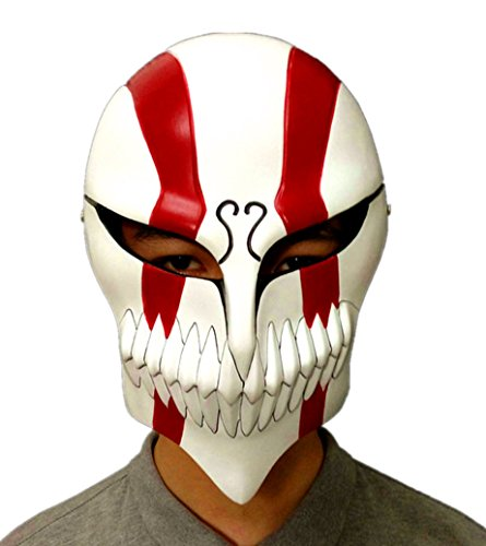 Gmasking Resin Bleach Ichigo Kurosaki Full Hollow Mask Replica (Bleach Ichigo Full Hollow Mask)