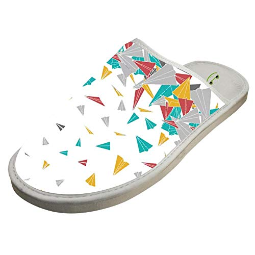 Slip planes Indoor Washable Foam White Non Slippers paper Flying Cotton H1apwYxq