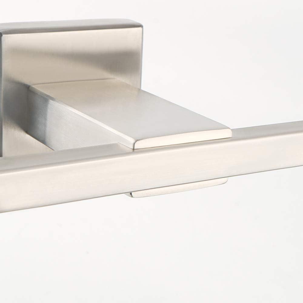 EGK8009 design quadrato moderno in acciaio inox nichelato spazzolato Sayayo EGK8009 Portasciugamani da parete