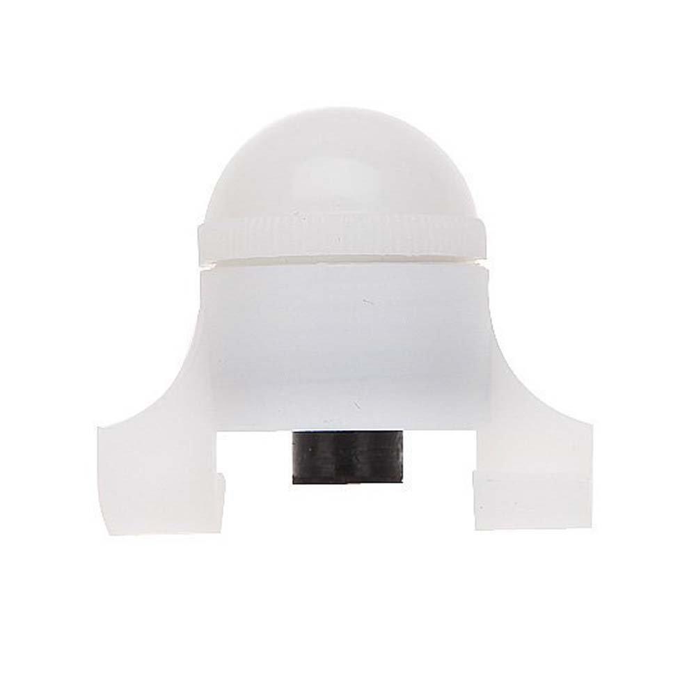 alarma de - SODIAL(R)Alarma de Mordedura de Pesca Nocturna Luces Inteligente Clip en Cana de Pesca Alerta Resistente al Agua con Bateria de Litio 4g blanco: ...