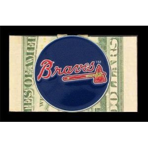 Siskiyou Atlanta Braves Large Logo Moneyclip - MLB Money Clip