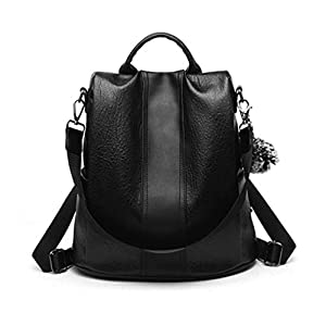 Aiseyi Women Backpack Purse PU Leather Anti-theft Casual Shoulder Bag Fashion Ladies Satchel Bags