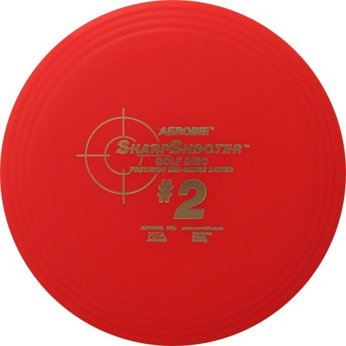 Aerobie Sharpshooter #2 Golf Disc (Color May Vary)