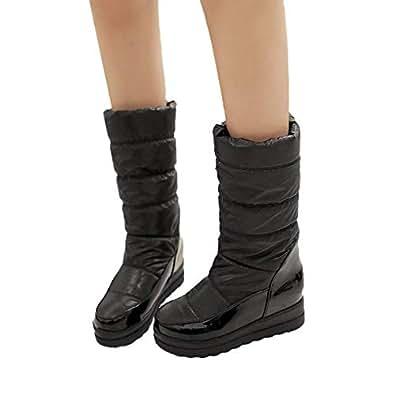Amazon.com   Women mid-Calf Boots Winter, Women High