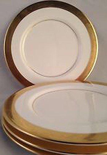4 Mikasa China - Mikasa Bone China Harrow Bread and Butter Plates (4 in Pkg)