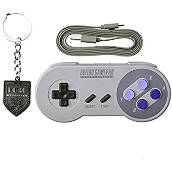 8bitdo SNES30 Wireless Bluetooth Controller Dual Classic Joystick for IOS / Android Gamepad - PC Mac Linux