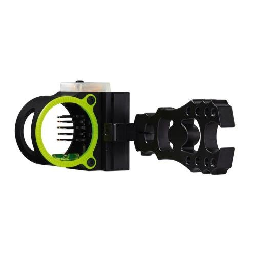 Black Gold Widow Maker Archery Bow Sight Black 5 Pin by Black Gold