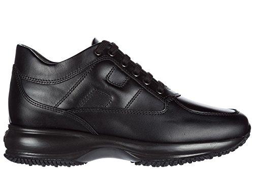 Hogan Zapatos Zapatillas de Deporte Mujer EN Piel Nuevo Interactive Negro