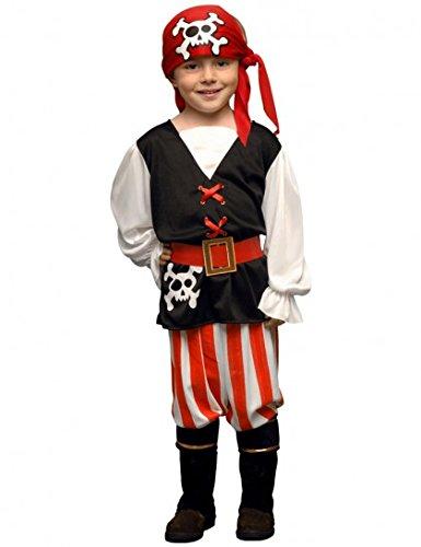 Juguetes Fantasia - Disfraz pirata niño 3-4 años