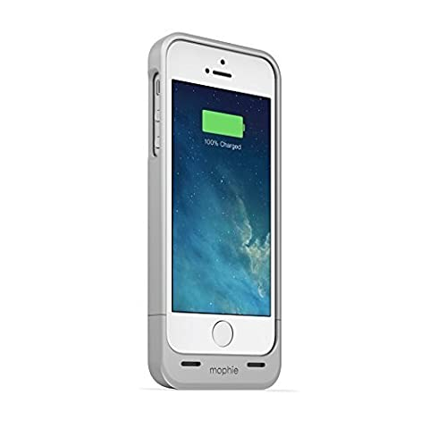 mophie juice pack Helium for iPhone 5/5s/5se (1,500mAh) - Silver (A Charging Iphone 5 Case)