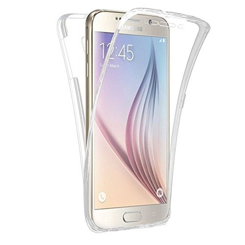 Slim Shockproof Case for Samsung Galaxy J1 (White) - 6