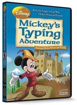 Disney Mickey's Typing Adventure Gold 41RumEFL1OL