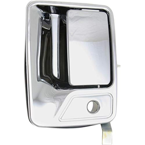 Excursion Handle Door Chrome (Door Handle For Ford All Super Duty Models Front Left Outer Chrome)