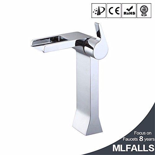 Bathroom Fixtures Copper Led Single Hole Temperature Hot And Cold Water Basin Falls Four Single Handle Faucet Manufacturers Low-cost Direct Sales Fine Craftsmanship
