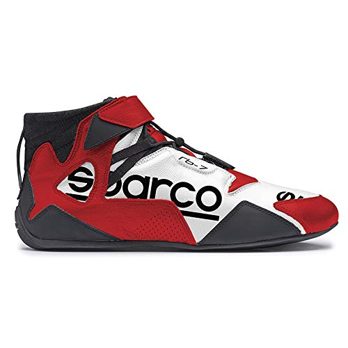 Sparco SL-17 Shoes 001263 Size: 45, Black//Red
