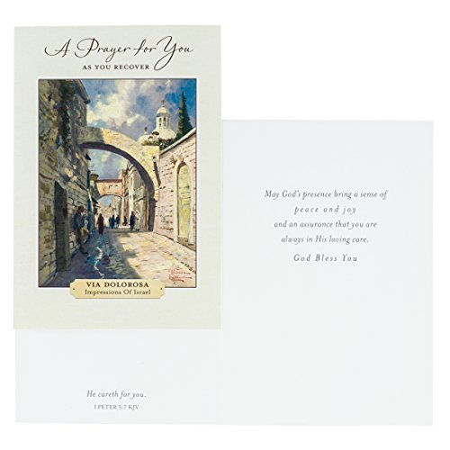 DaySpring Get Well Greeting Cards w Embossed Envelopes - Thomas Kinkade, 12 Count Photo #4