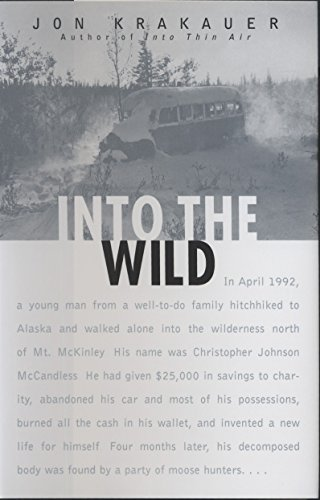Top 9 recommendation into the wild jon krakauer hardcover