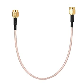 Jacksking Cable coaxial, Antena SMA Macho a SMA Macho RF ...