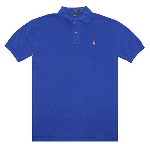 Polo Ralph Lauren Men Classic Fit Mesh Polo Shirt, Rugby Royal, ()