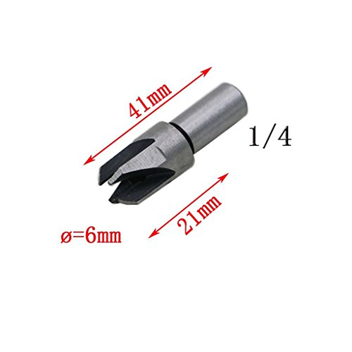 Dovewill 8Pieces / Set Straight & Claw Type Wood Plug Hole Cutter Woodwork Cutting Drill Bits by Dovewill (Image #7)