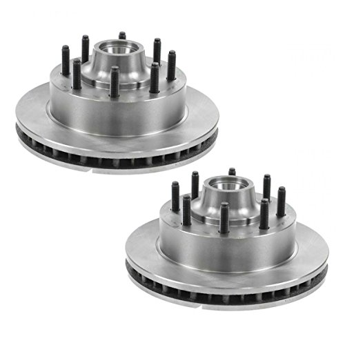 Rotor Pickup Duty F250 Super (Front Brake Rotor Pair for Excursion F250SD F350SD Pickup Truck SUV 2WD)